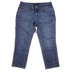 White House Black Market Slim Capri Jeans